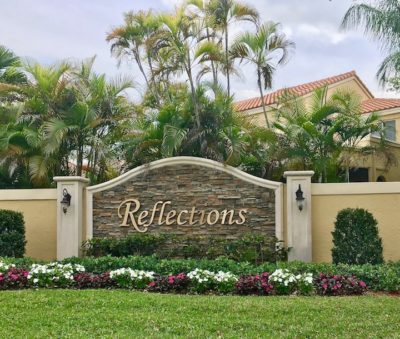Reflections in Mission Bay Boca Raton Florida homes for sale now